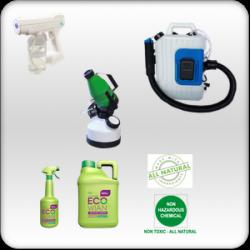 cadre photo produit et machine pour la désinfection